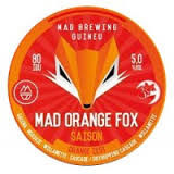 GUINEU/MAD BREWERY MAD ORANGE FOX 33 CL.