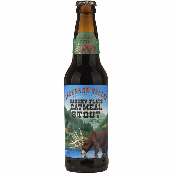 ANDERSON VALLEY BARNEY FLATS OATMEAL STOUT - 35.5 CL
