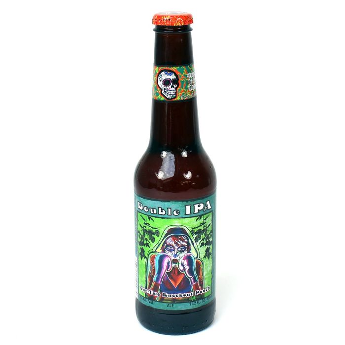 DIA DE LOS MUERTOS ONE - TWO KNOCKOUT PUNCH DOUBLE IPA - 35.5 CL
