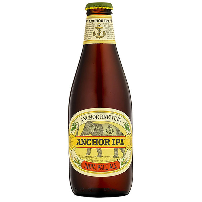 ANCHOR GO WEST IPA - 35,5 CL