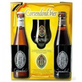 PACK CORSENDONK 2 BOTELLAS 33 CL + COPA