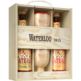 PACK MADERA WATERLOO 2X75Cl + 2 COPAS