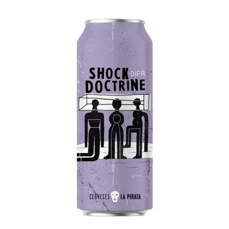 LA PIRATA SHOCK DOCTRINE LATA 44 CL