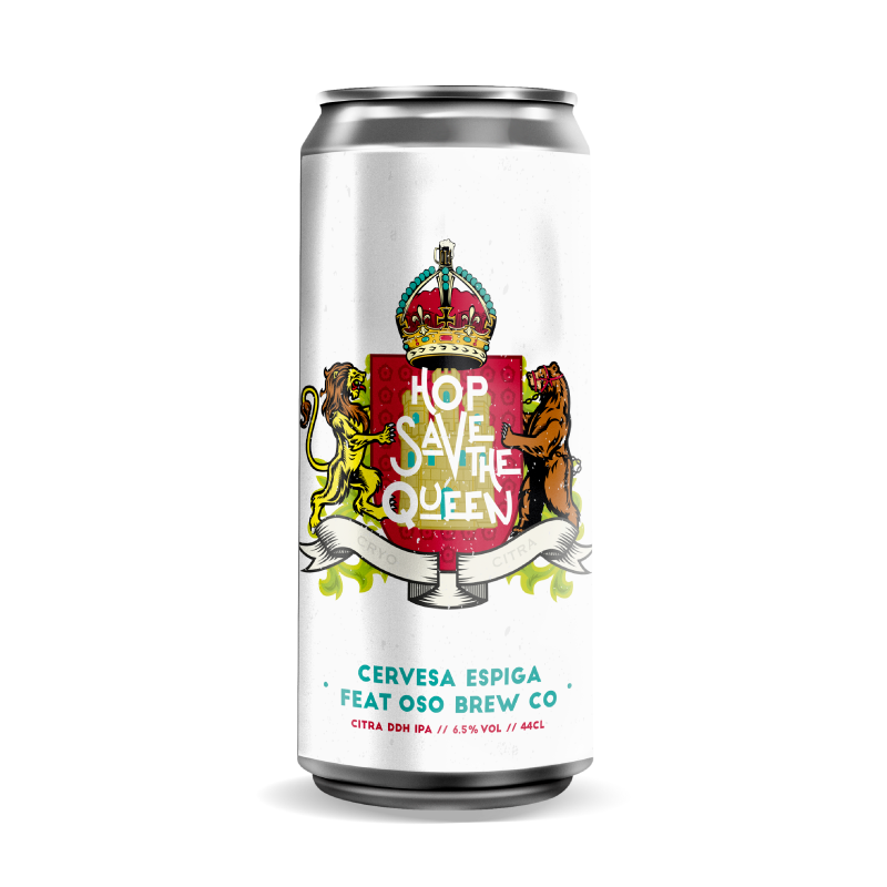 Cerveza Espiga Hop Save the Queen
