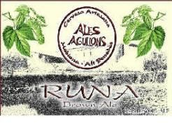 ALES AGULLONS RUNA BROWN ALE - 50 CL